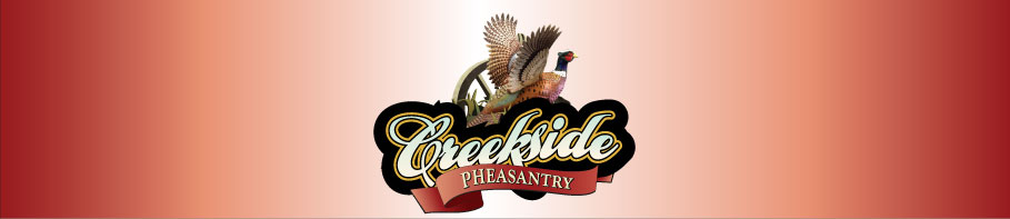 Creekside Pheasantry header